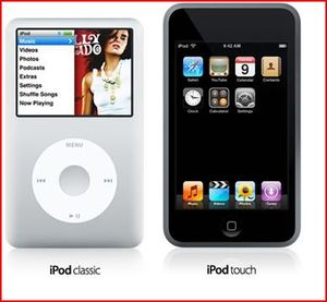 Ipodclassicipodtouch